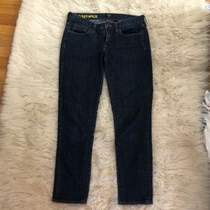 J. Crew size 27 TOOTHPICK JEANS PERFECT
